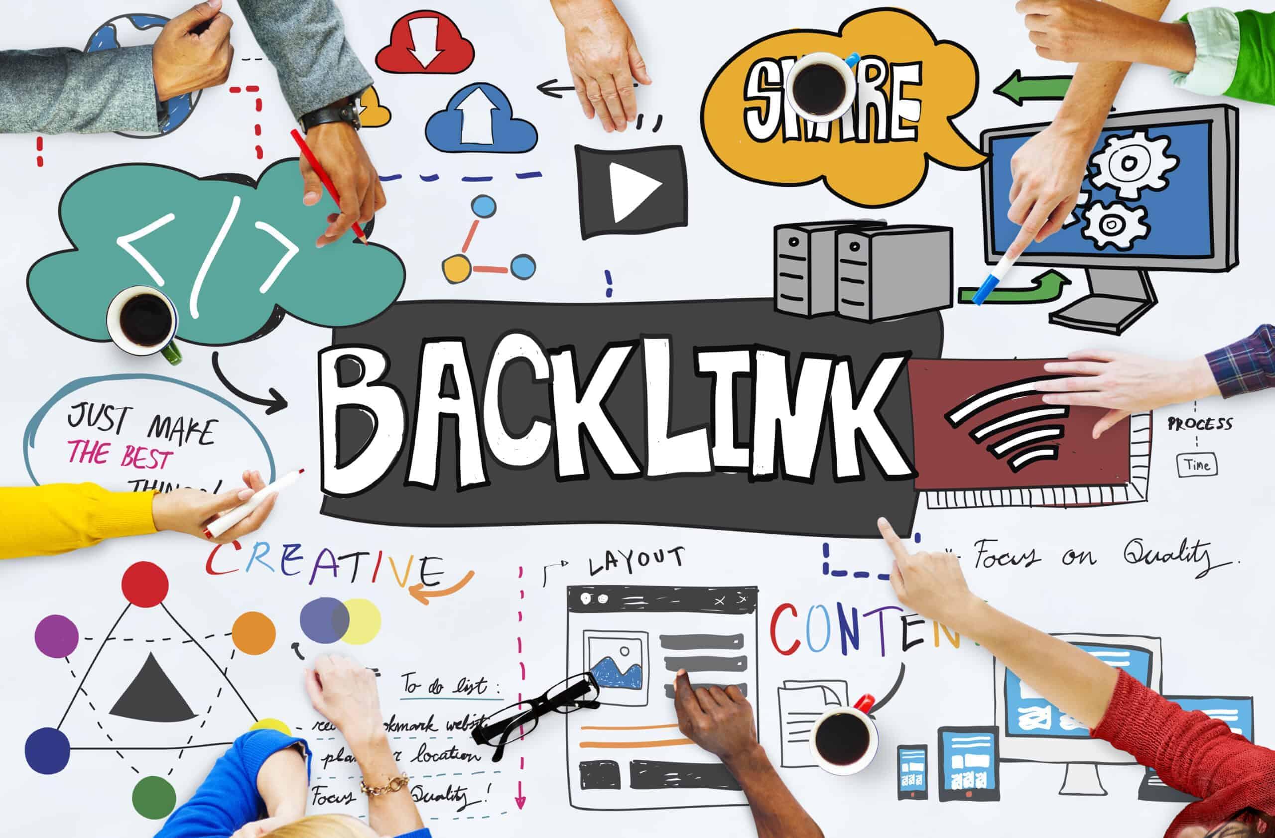 Backlinks für Linkaufbau